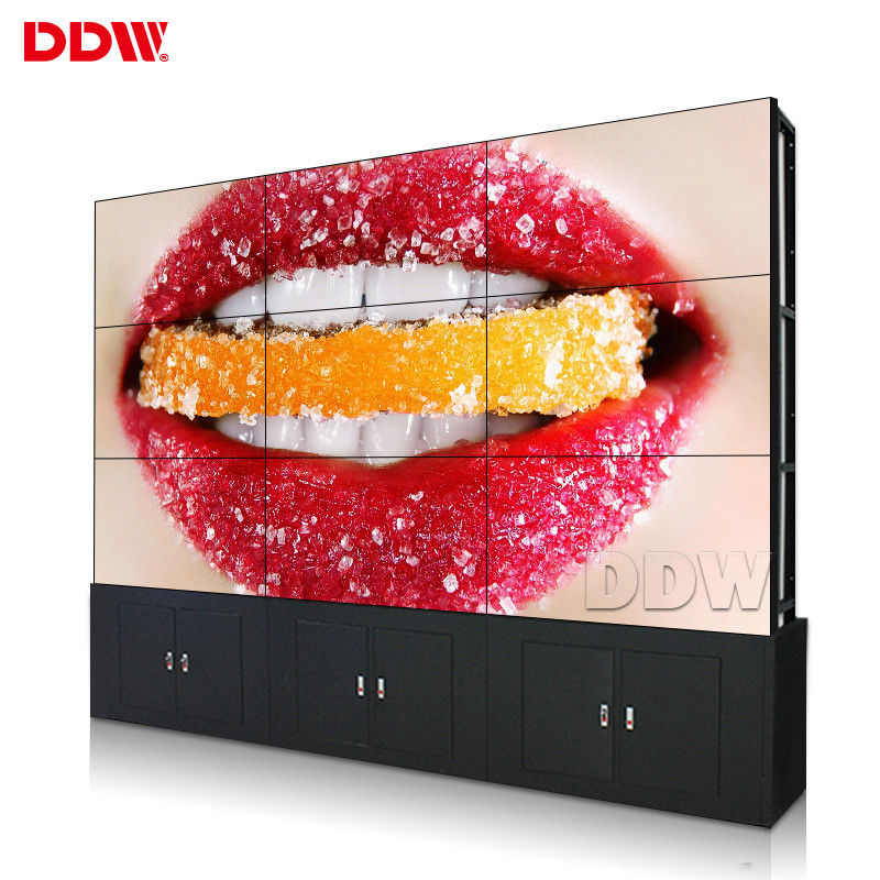 Shopping Mall Commercial Video Wall Advertising 500 Nits Brightness 2 X HDMI Input