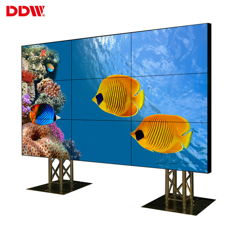 Conference Room Seamless Video Wall , Wall Mounted Video Wall 500 Nits